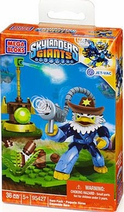 Skylanders Giants Mega Bloks Set#95427 Jet-Vac with Cowboy Hat BLOWOUT SALE!