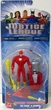 Justice League Cyber Trakkers The Flash Vs Slobot Action Figure