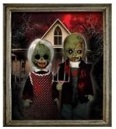 Mezco Toyz Living Dead Dolls 2-Pack American Gothic [Bloody Version]