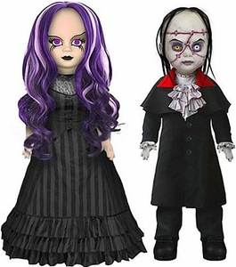 Mezco Toyz Living Dead Dolls Set of 2 Figures Beauty And The Beast