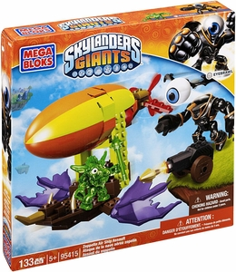 Skylanders Giants Mega Bloks Set #95415 Zepplin Air Ship Assault BLOWOUT SALE!