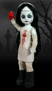 Mezco Toyz Living Dead Dolls Series 3 Bride of Valentine Packaging Shows Slight Shelf-Wear; MINT Contents