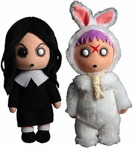 Mezco Toyz Living Dead Dolls Creepy Cuddlers Series 1 Set of Both Plush [Sadie & Eggzorcist]