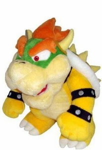 Super Mario Brothers 10 Inch Plush Bowser