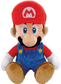 Super Mario Brothers 13 Inch Plush Mario