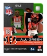 OYO Football NFL Building Brick Minifigure A.J. Green [Cincinnati Bengals]