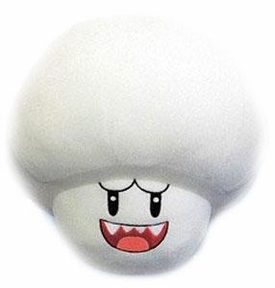 Super Mario Galaxy BanPresto 9 Inch Plush Ghost Mushroom