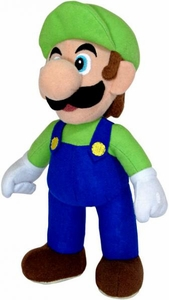Popco Super Mario Brothers 6 Inch Series 2 Plush Figure Luigi