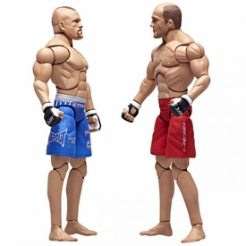 UFC Ultimate Fighting Jakks Pacific Series 2 Deluxe Action Figure 2-Pack Chuck Liddell vs. Randy Couture Recalled!