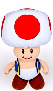 Popco Super Mario Brothers 6 Inch Series 2 Plush Figure Toad