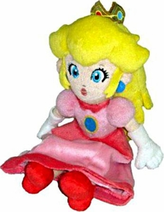 Super Mario Brothers 8 Inch Plush Princess Peach