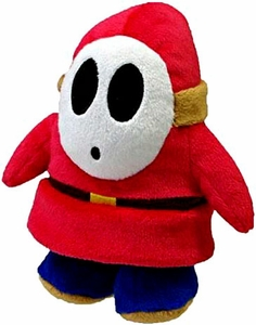 Super Mario Brothers 5 Inch Plush Shy Guy New!
