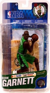 McFarlane Toys NBA Sports Picks Series 18 Action Figure Kevin Garnett (Boston Celtics) Green Uniform with Black Logos Bronze Collector Level Chase Only 3,000 Made!