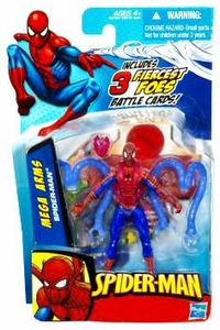 Spider-Man 3.75 Inch Action Figure Mega Arms Spider-Man