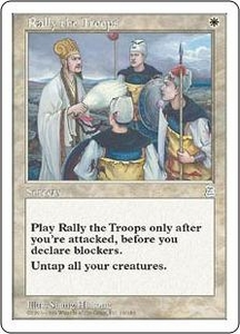 Magic the Gathering Portal Three Kingdoms Single Card Uncommon #16 Rally the Troops