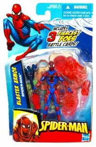 Spider-Man 3.75 Inch Action Figure Blaster Armor Spider-Man