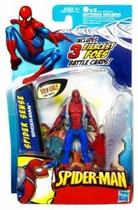 Spider-Man 3.75 Inch Action Figure Spider Sense Spider-Man [Light-Up Eyes]