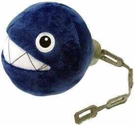 Super Mario Brothers 5 Inch Plush Chain Chomp New!