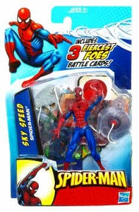 Spider-Man 3.75 Inch Action Figure Sky Speed Spider-Man