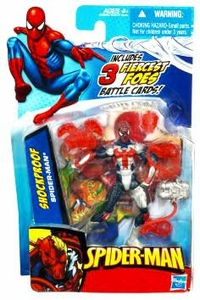 Spider-Man 3.75 Inch Action Figure Shock Proof Spider-Man