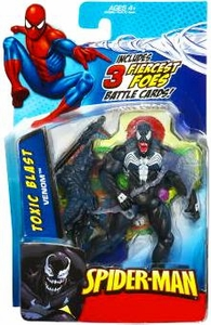 Spider-Man 3.75 Inch Action Figure Toxic Blast Venom