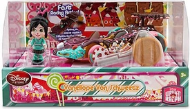 Wreck-It Ralph Movie Exclusive Sugar Rush Racer Vehicle & Figure Vanellope Von Schweetz