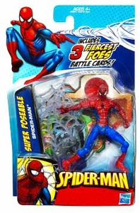 Spider-Man 3.75 Inch Action Figure Super Poseable Spider-Man