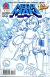 Mega Man Comic Book 1st Issue Sketch Variant Cover
