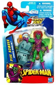 Spider-Man 3.75 Inch Action Figure Dive Bomber Green Goblin