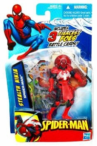 Spider-Man 3.75 Inch Action Figure Stealth Ninja Spider-Man