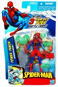 Spider-Man 3.75 Inch Action Figure Power Punch Spider-Man