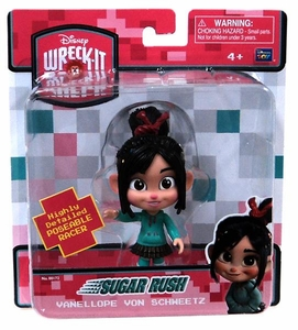 Wreck-It Ralph Movie 5 Inch Sugar Rush Poseable Figure Vanellope Von Schweetz