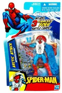 Spider-Man 3.75 Inch Action Figure Arctic Attack Spider-Man
