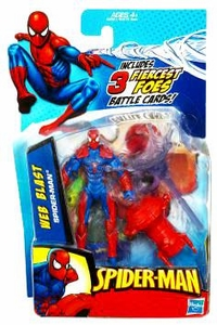Spider-Man 3.75 Inch Action Figure Web Blast Spider-Man