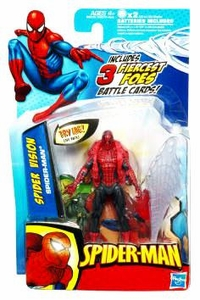 Spider-Man 3.75 Inch Action Figure Spider Vision Spider-Man