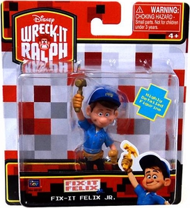 Wreck-It Ralph Movie 3 Inch Mini Figure Fix-It Felix Jr.