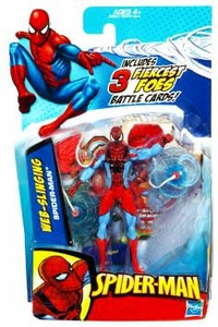 Spider-Man 3.75 Inch Action Figure Web Slinging Spider-Man