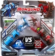 Monsuno Combat 2-Pack Quickforce {Core-Tech} VS Spiderwolf {Eklipse} [2 Figures, 2 Cores & 6 Cards]