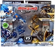 Monsuno Combat 4-Pack Charger, Glowblade, Riccoshot & Blackbullet {Core-Tech VS S.T.O.R.M.} [4 Figures, 4 Cores & 12 Cards]