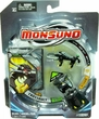 Monsuno Single Pack #18 Crossbolt {S.T.O.R.M.} [1 Figure, 1 Core & 3 Cards]