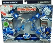 Monsuno Combat 4-Pack Lock, Longfang, Whipper & Airswitch {Core-Tech} [4 Figures, 4 Cores & 12 Cards]
