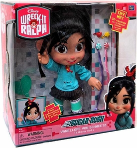Wreck-It Ralph Movie 12 Inch DELUXE Talking Figure Vanellope Von Schweetz [Sugar Rush]