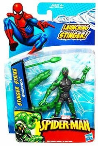 Spider-Man 3.75 Inch Action Figure Stinger Strike Scorpion [Launching Stinger!]