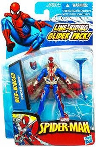 Spider-Man 3.75 Inch Action Figure Web-Winged Spider-Man