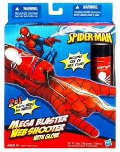 Spider-Man Roleplay Toy Mega Blaster Web Shooter with Glove