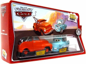 Disney / Pixar CARS Movie 1:55 Die Cast Story Tellers Collection 2-Pack Bubba & Brand New Mater