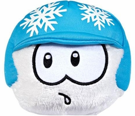 Disney Club Penguin 4 Inch Exclusive Plush Puffle White with Snowflake Helmet [Includes Coin with Code!]
