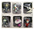 Tim Burton's The Nightmare Before Christmas Keychains Set of 6