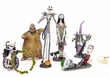 Nightmare Before Christmas Disney Mini PVC Figure 7 Piece Set