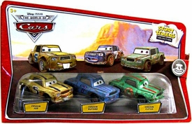 Disney / Pixar CARS Movie 1:55 Die Cast Story Tellers Collection 3-Pack Cousin Jud, Cousin Buford & Cousin Cletus